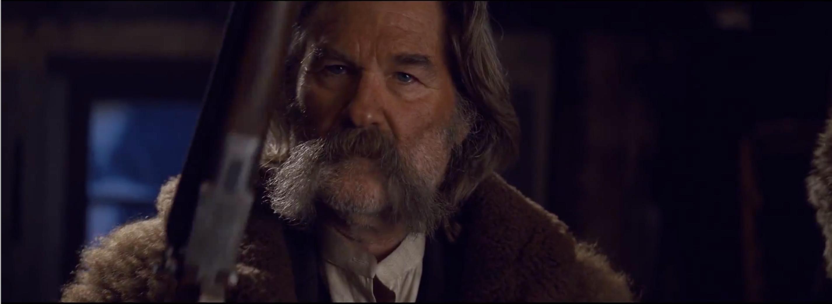 The Hateful Eight: Kurt Russell in una scena del teaser trailer del film di Tarantino
