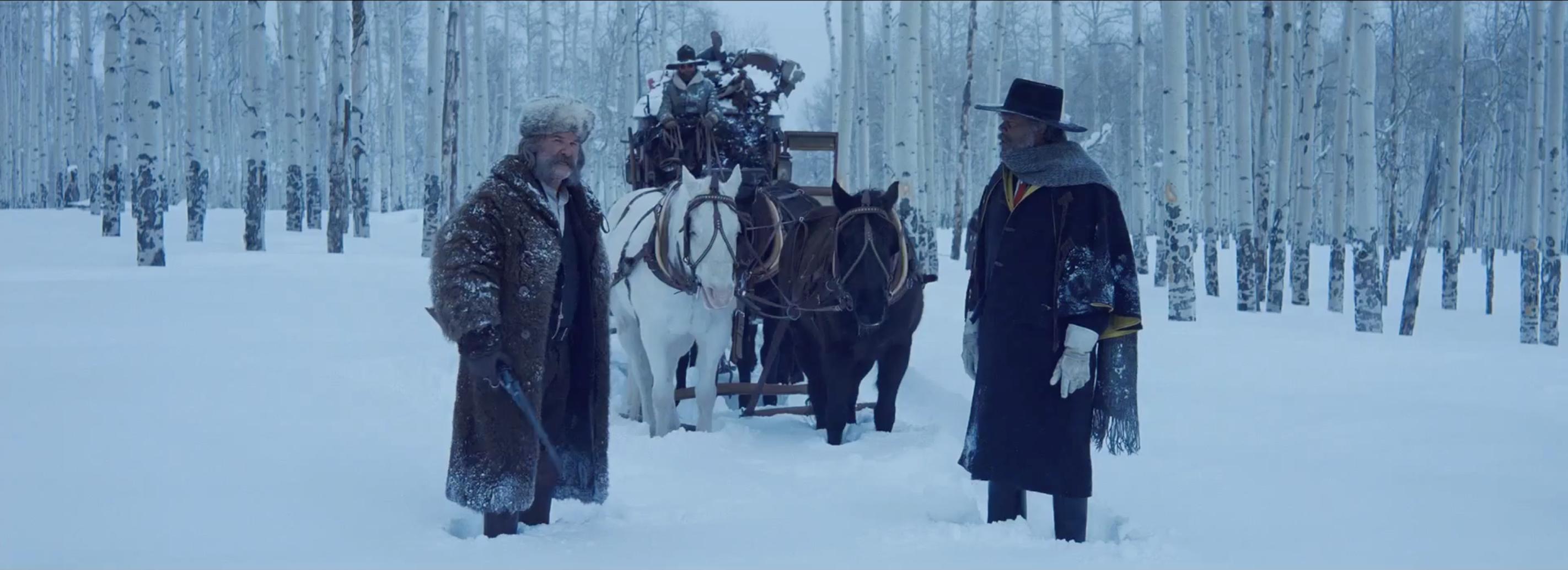 The Hateful Eight: Kurt Russell e Samuel L. Jackson nel teaser trailer del film di Tarantino