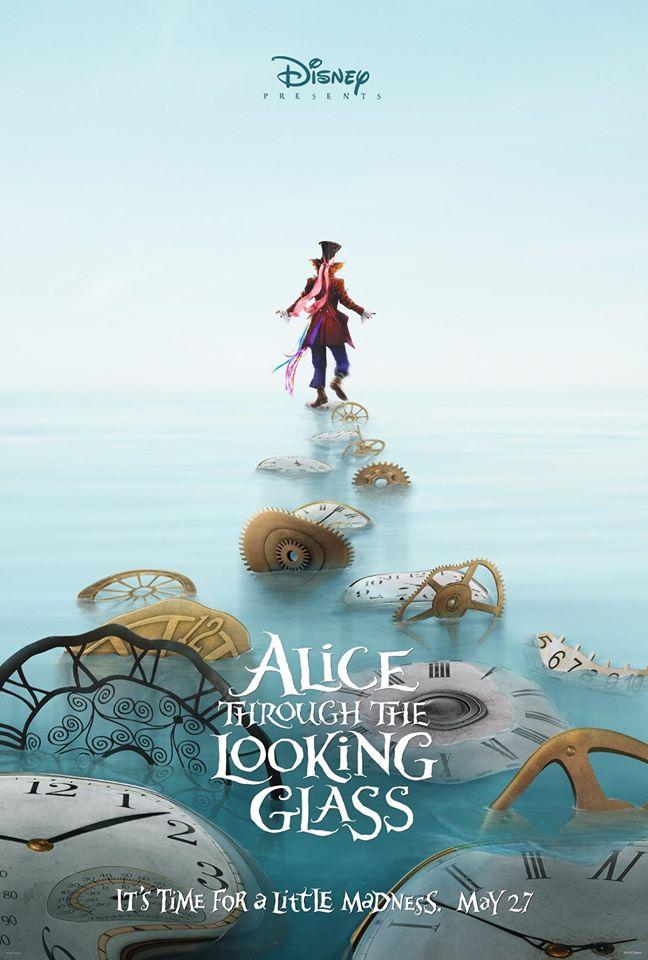 Alice Through The Looking Glass: il poster dedicato al Cappellaio Matto