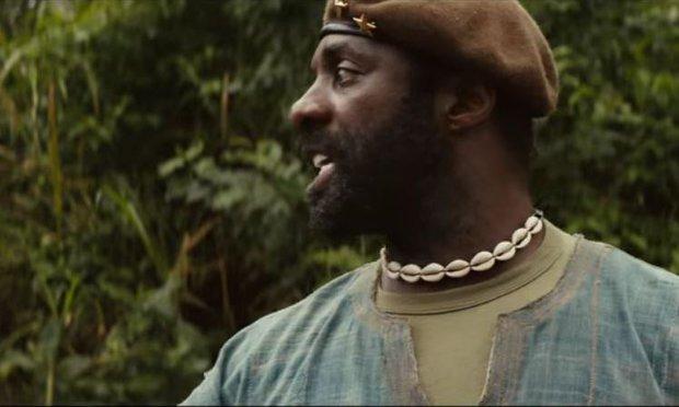 Beasts of No Nation: Idris Elba in un'immagine tratta dal film