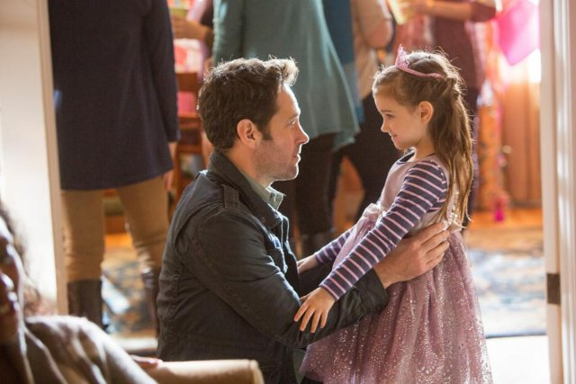 Ant-Man: Paul Rudd con la piccola Abby Ryder Fortson