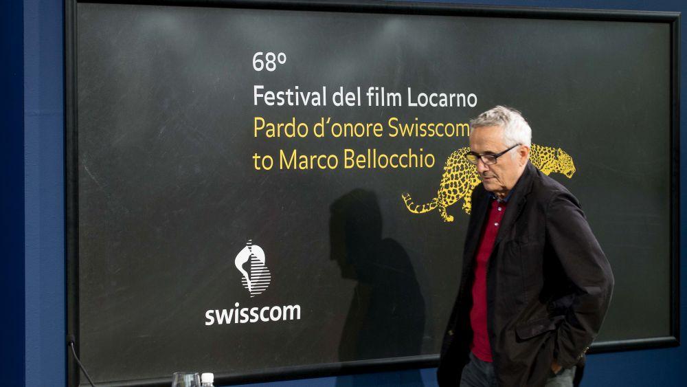 Marco Bellocchio al forum di Locarno 2015 per l'incontro col pubblico