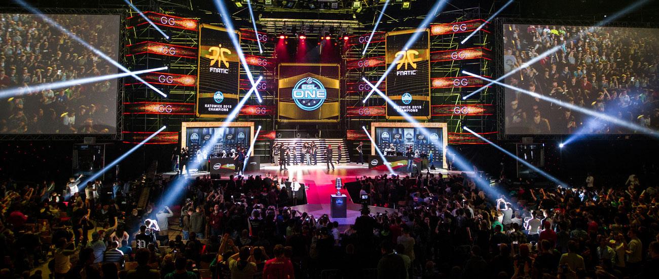 Esl Esports - Counter Strike: Global Offensive Finals Live: un'immagine di una game session dal vivo