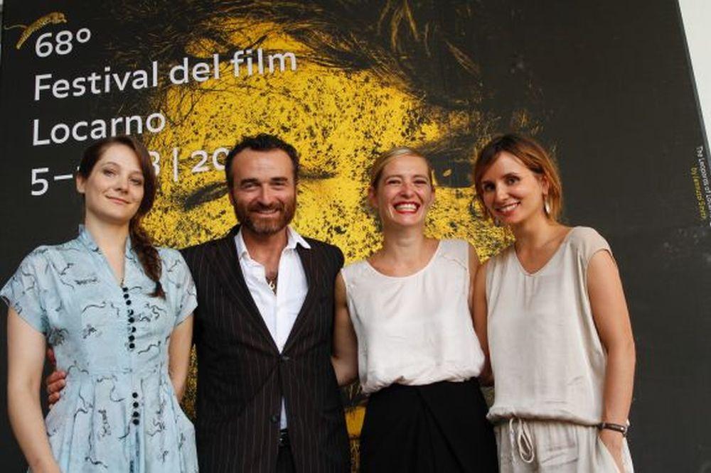 Olmo & the Seagull: Olivia Corsini e Serge Nicolai con le registe Petra Costa e Lea Glob