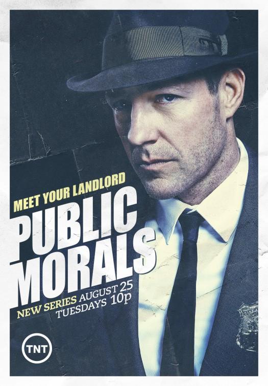 Public Morals: il poster della serie