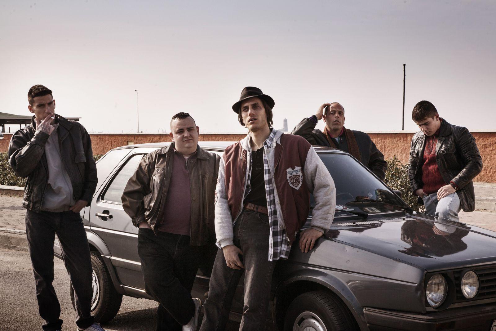 Non essere cattivo: Luca Marinelli in un'immagine tratta dal film