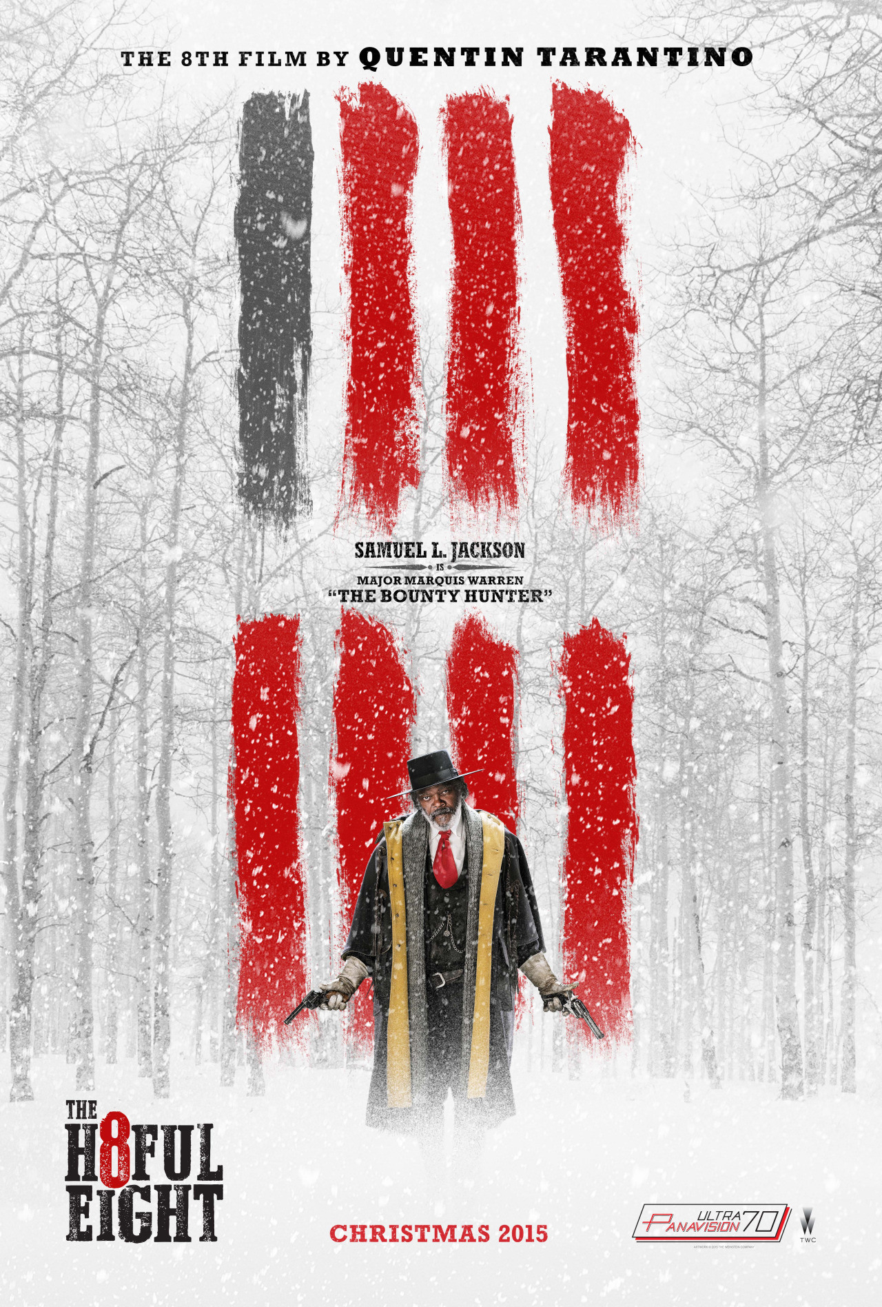 The Hateful Eight: il character poster di Samuel L. Jackson