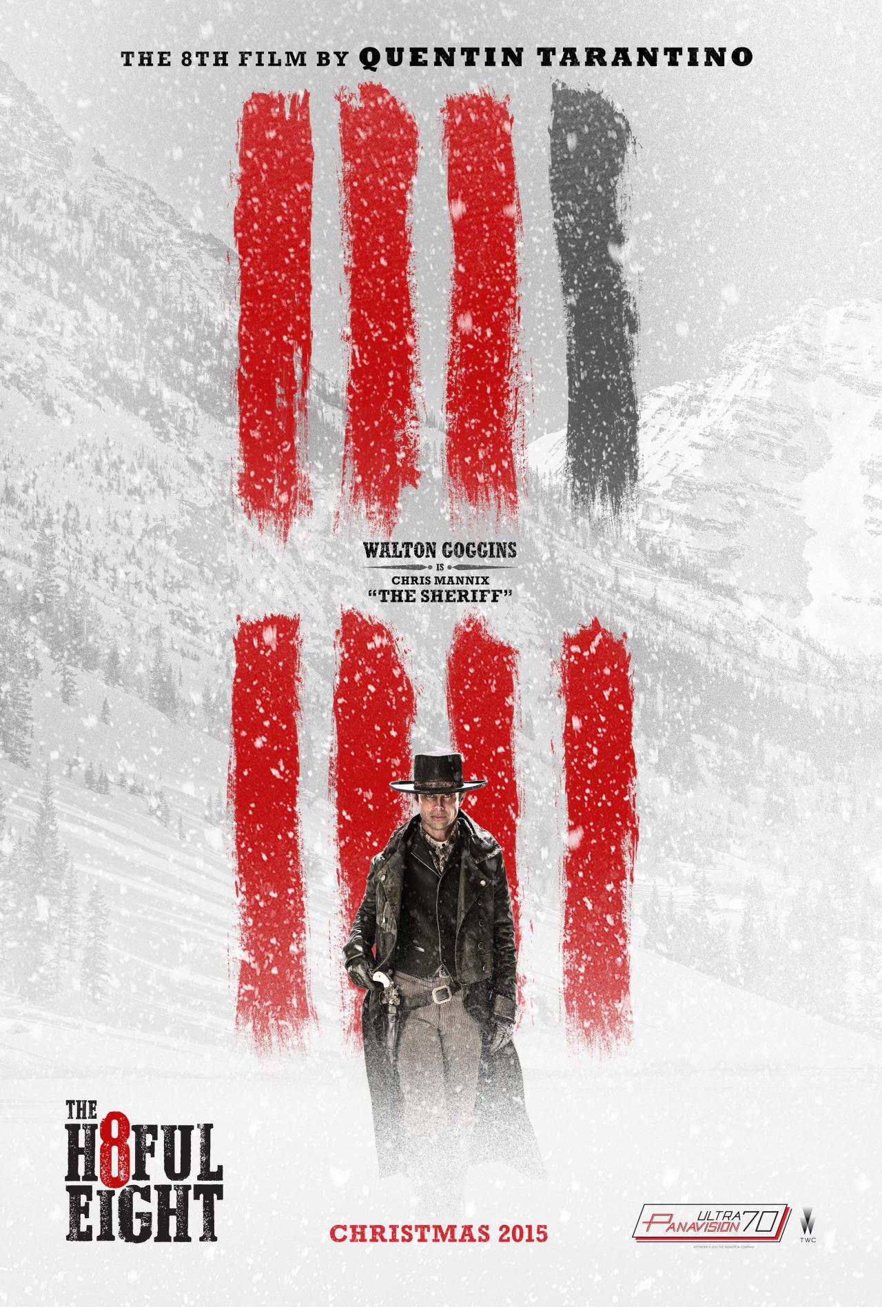 The Hateful Eight: il character poster di Walton Goggins