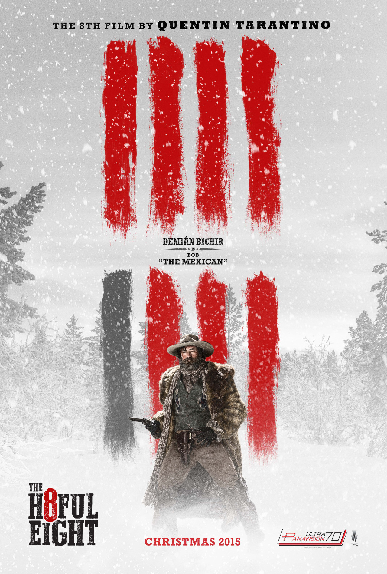 The Hateful Eight: il character poster di Demian Bichir