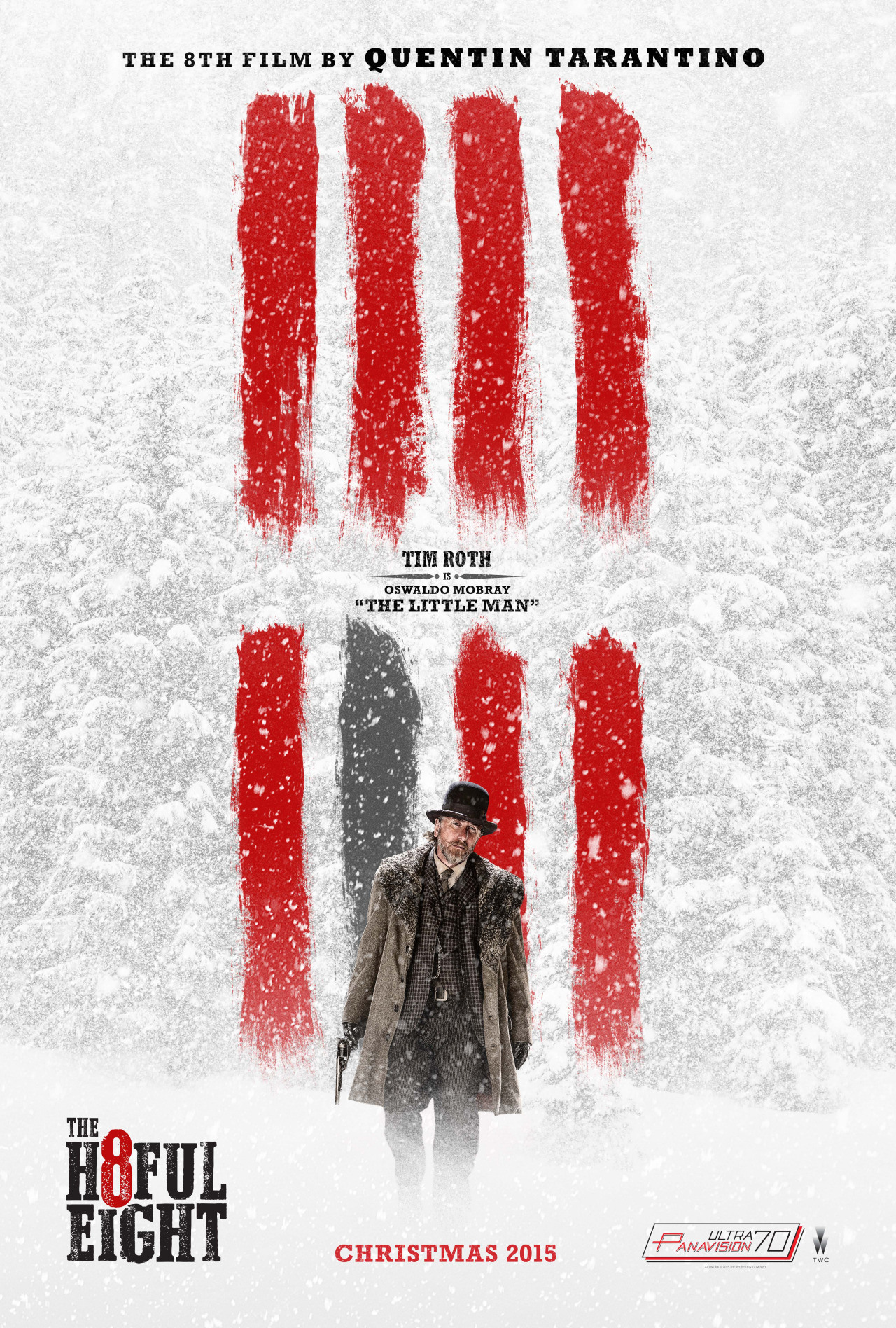 The Hateful Eight: il character poster di Tim Roth