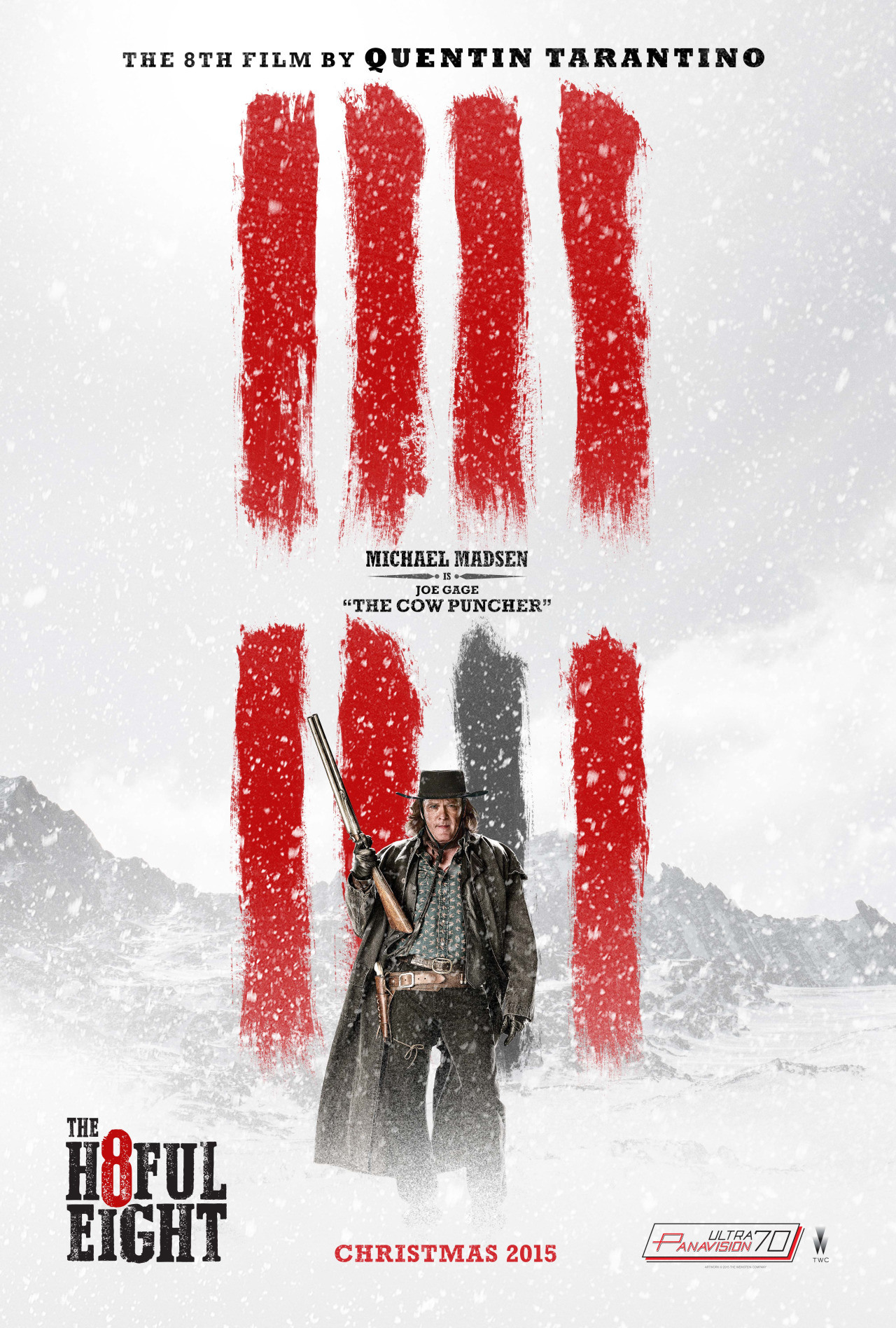 The Hateful Eight: il character poster di Michael Madsen