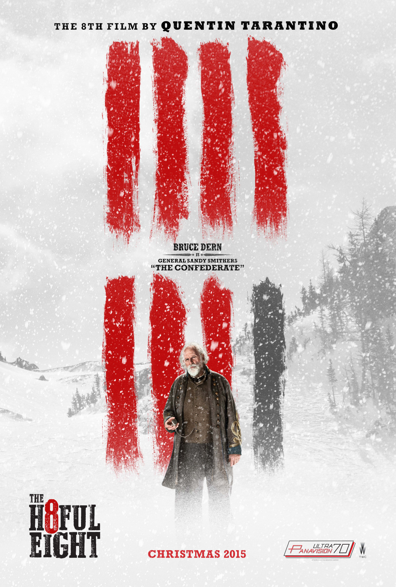 The Hateful Eight: il character poster di Bruce Dern