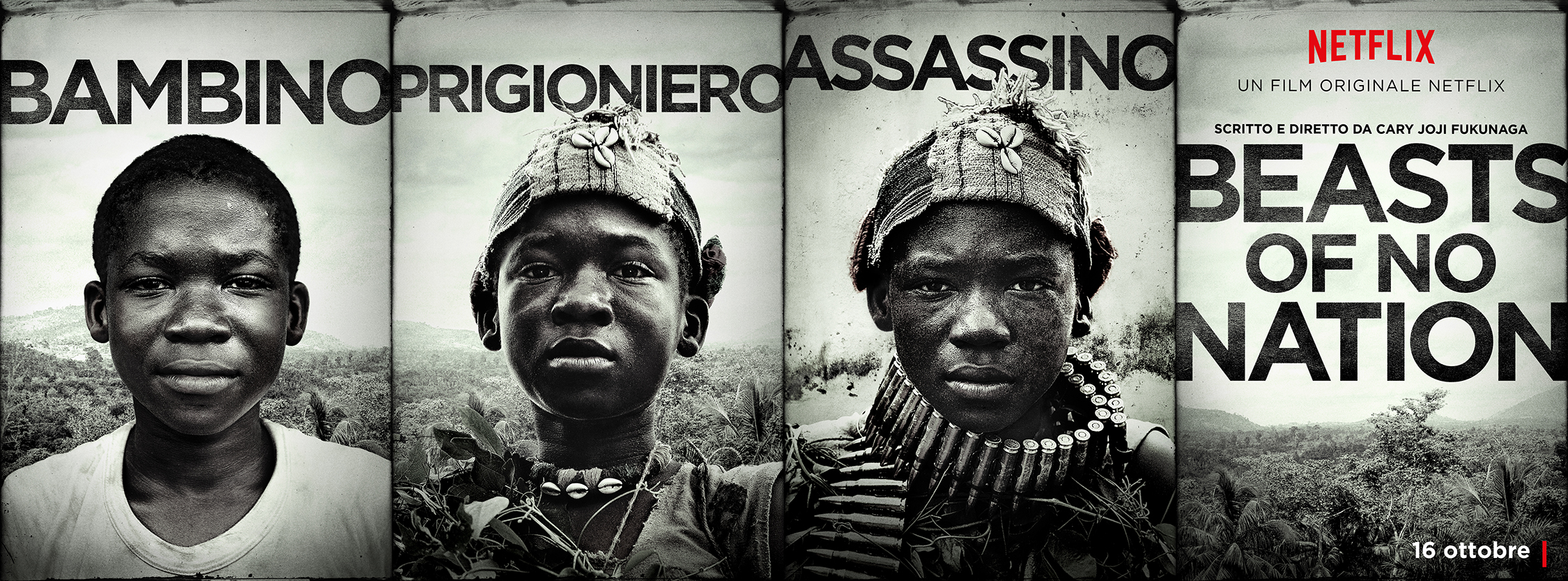 Beasts of No Nation: il character poster di Abraham Attah