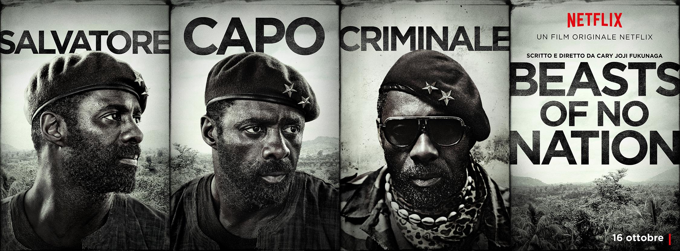 Beasts of No Nation: il character poster di Idris Elba