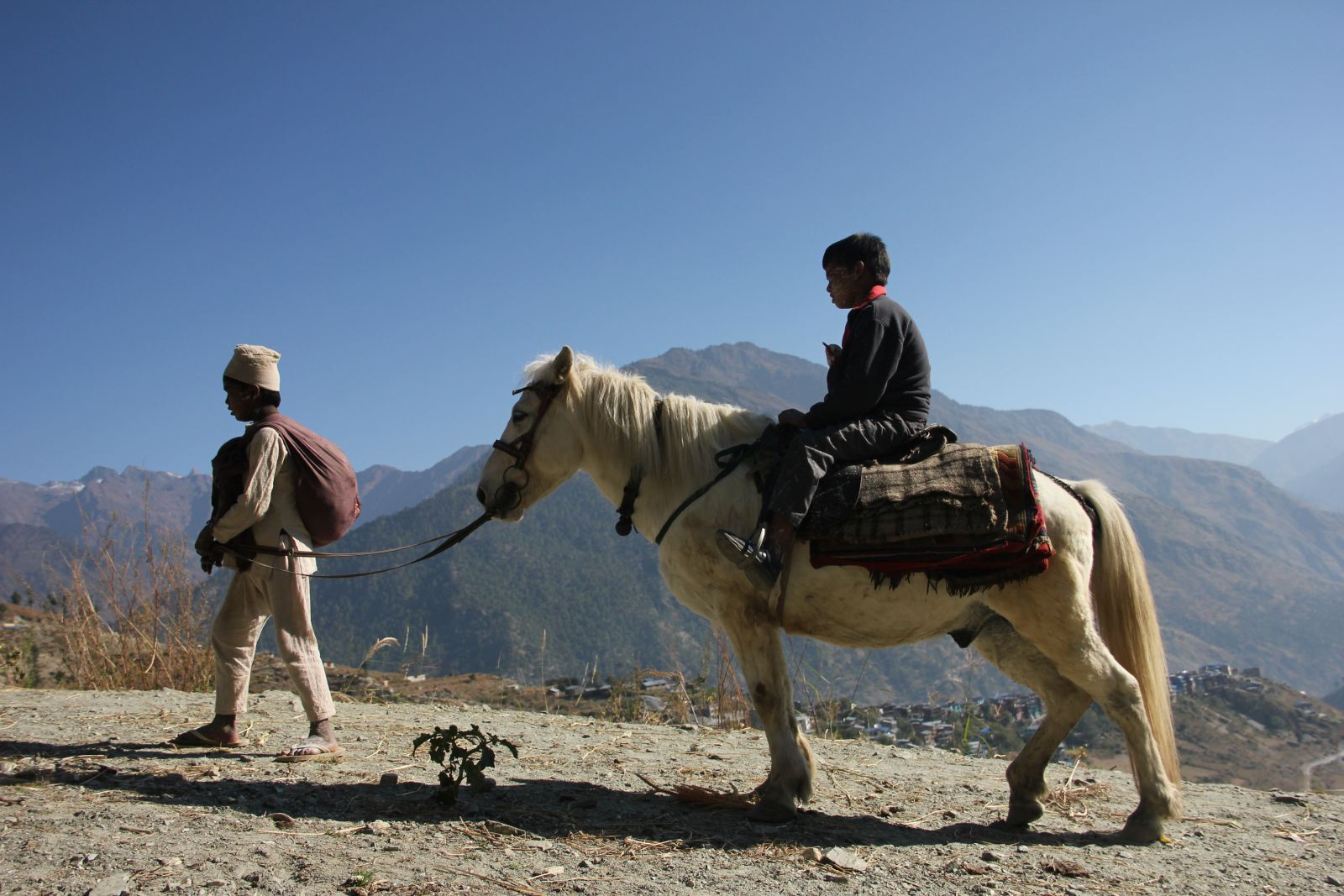 The Black Hen: un'immagine del film di Min Bahadur Bham