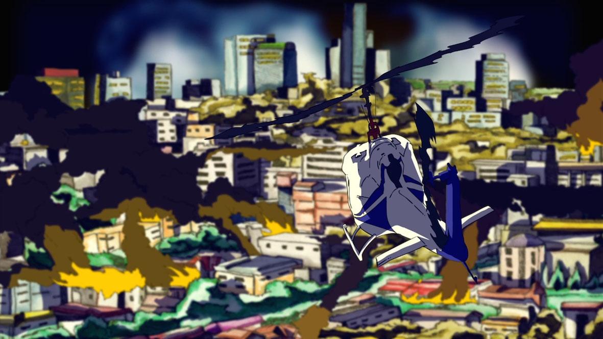 Bangland: un'immagine tratta dal film di animazione