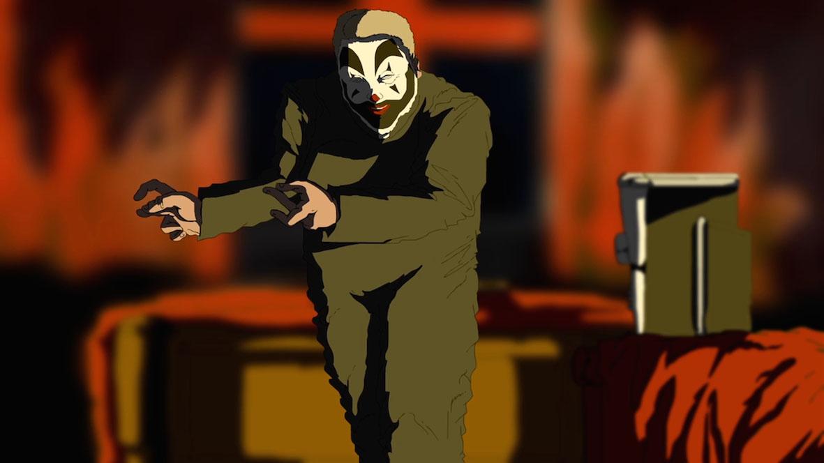 Bangland: un'immagine tratta dal film animato