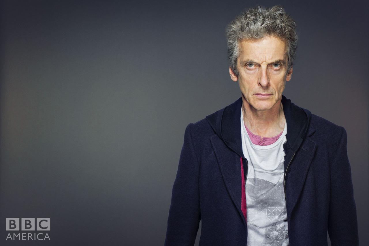 Doctor Who: Peter Capaldi in un'immagine promozionale della nona stagione