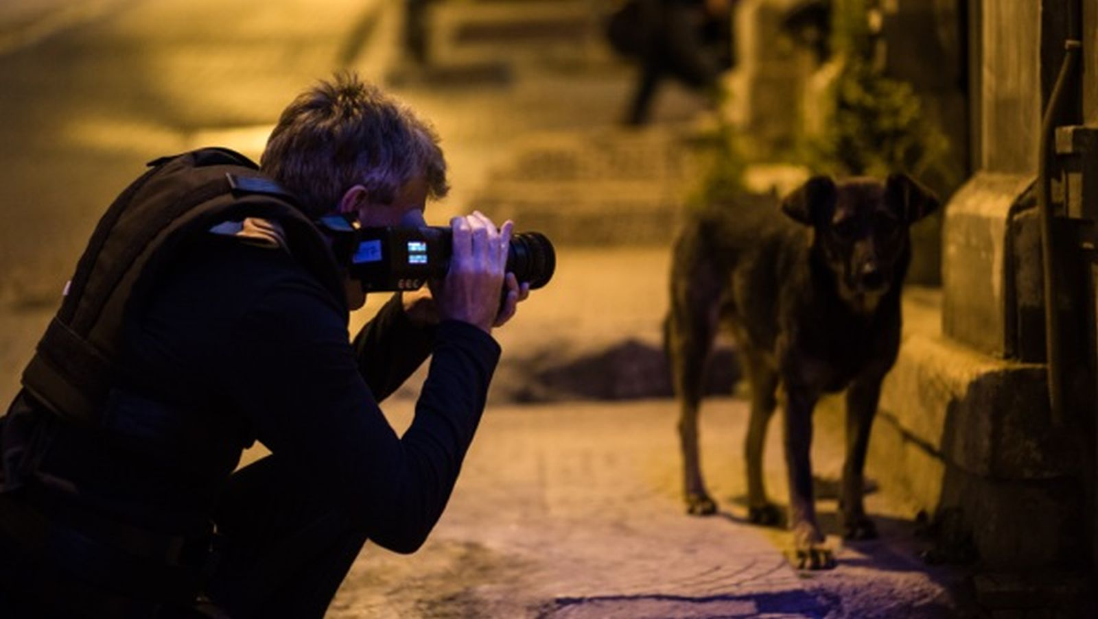 Innocence of Memories - Orhan Pamuk's Museum and Istanbul: il regista Grant Gee al lavoro sul set del film