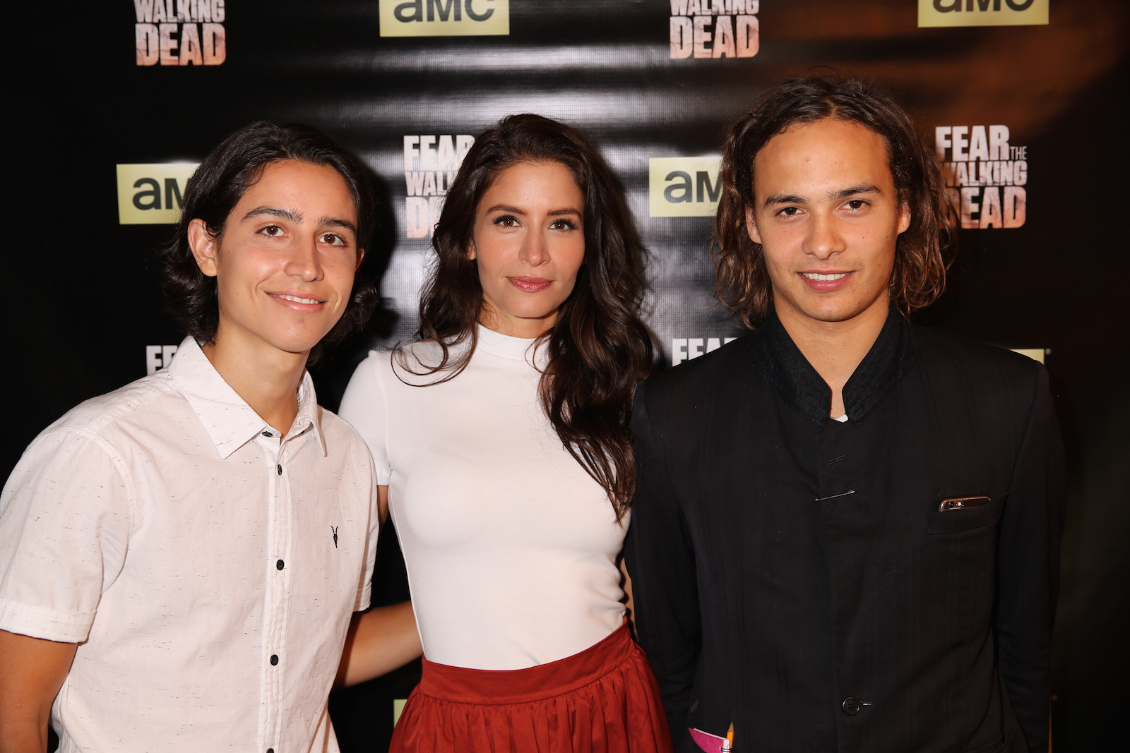 Fear the Walking Dead: Frank Dillane, Lorenzo James Henrie e Mercedes Mason al junket americano della serie