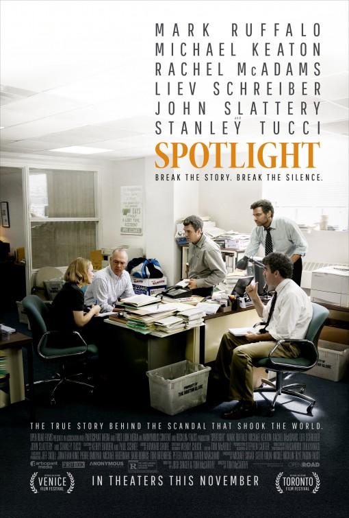 Spotlight: una nuova locandina del film