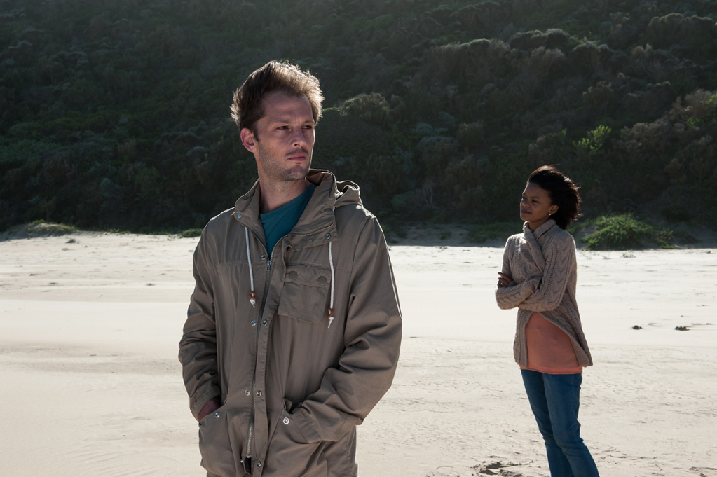 The Endless River: Nicolas Duvauchelle e Crystal-Donna Roberts in un'immagine del film
