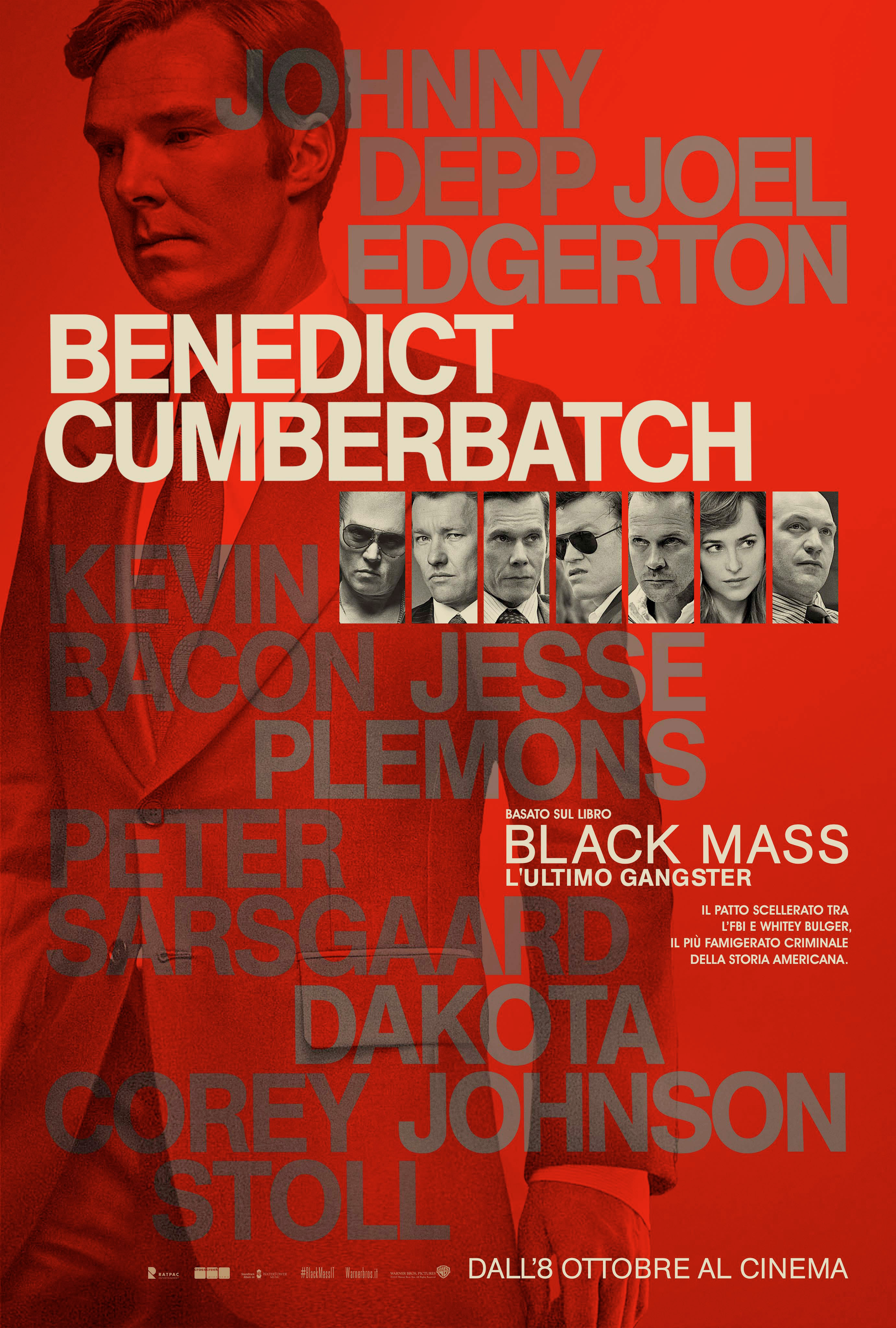 Black Mass - L'ultimo gangster: il character poster di Benedict Cumberbatch