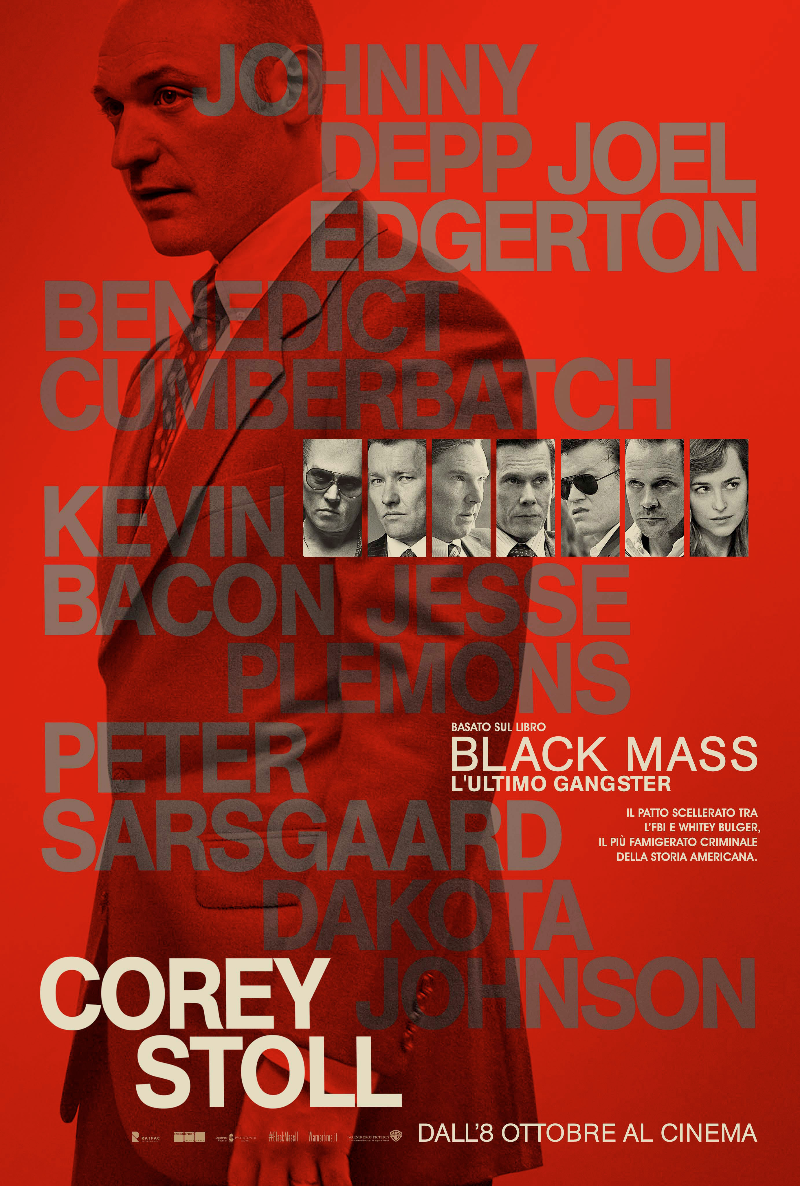 Black Mass - L'ultimo gangster: il character poster di Corey Stoll