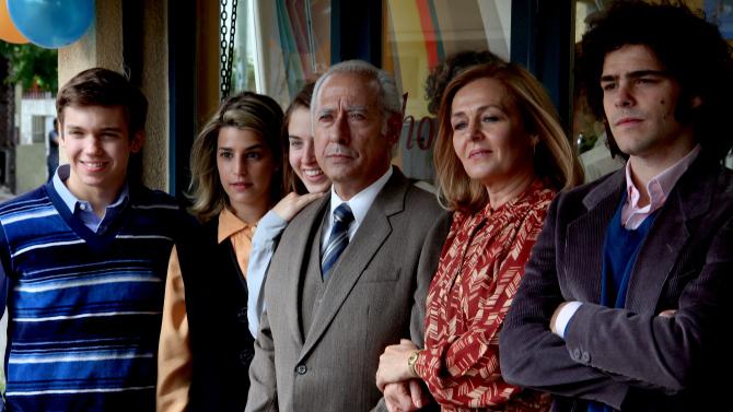 El clan: Guillermo Francella e Peter Lanzani in un'immagine del film