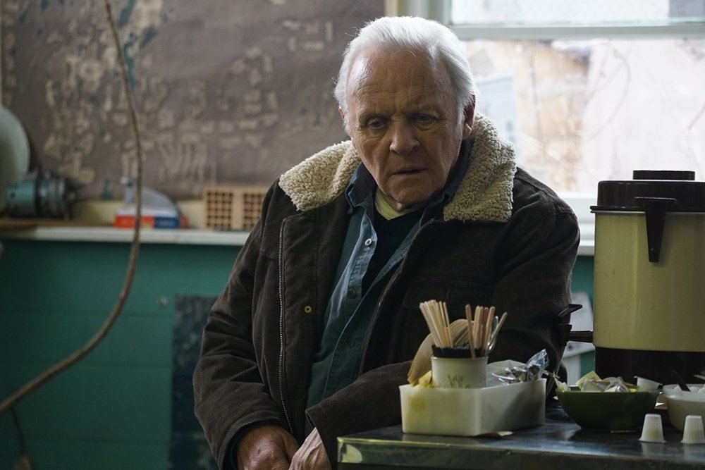 Go with Me: Anthony Hopkins in un momento del film diretto da Daniel Alfredson