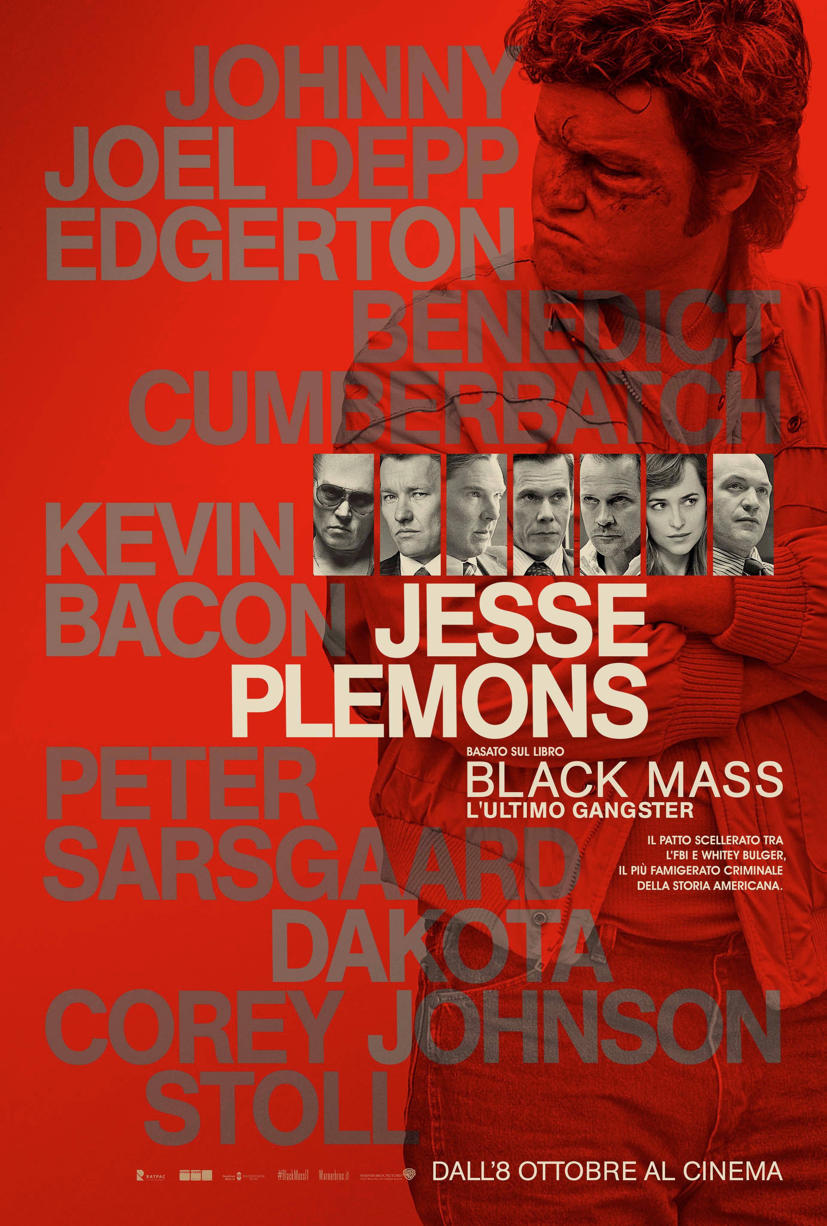 Black Mass - L'ultimo gangster: il character poster di Jesse Plemons