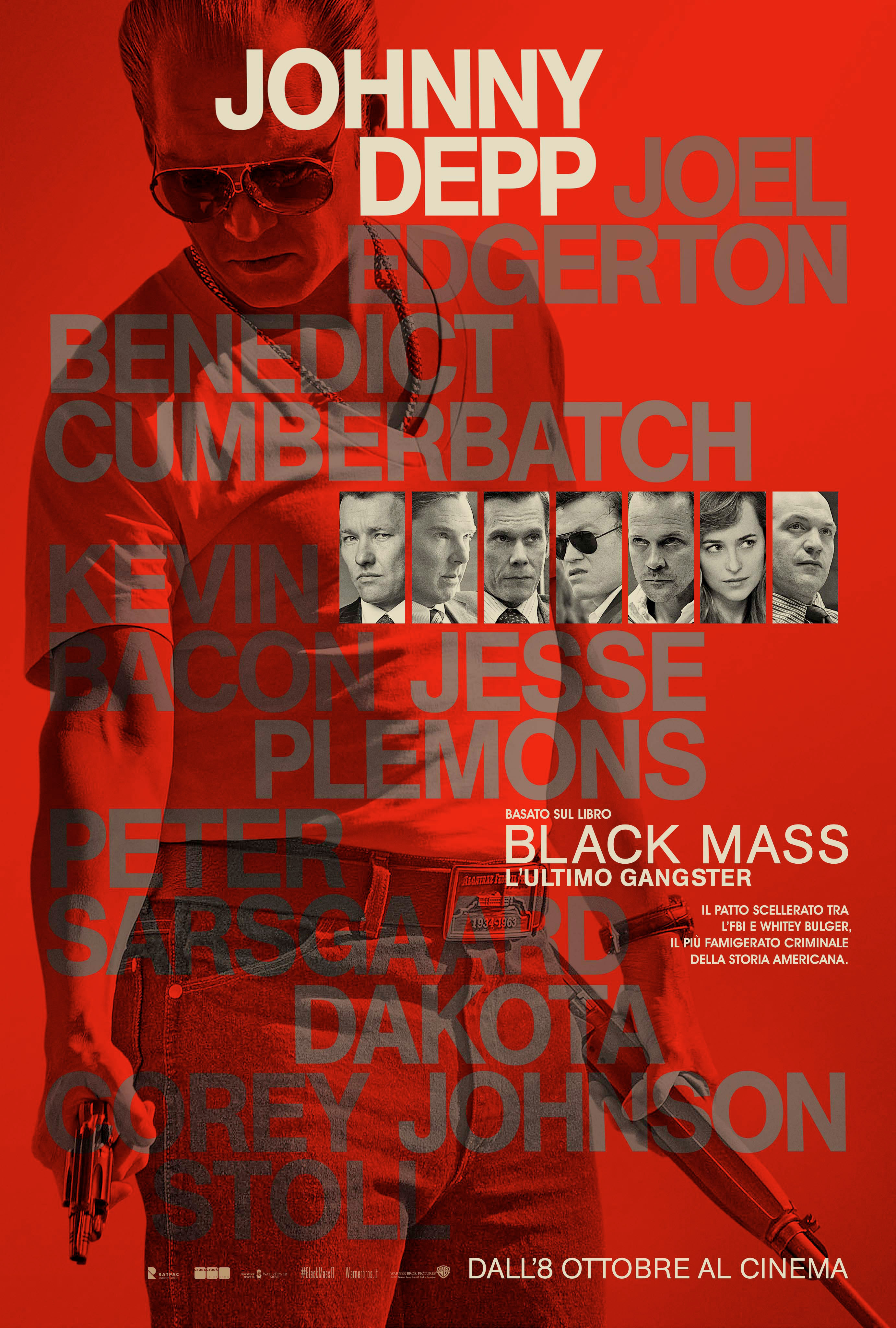 Black Mass - L'ultimo gangster: il character poster di Johnny Depp