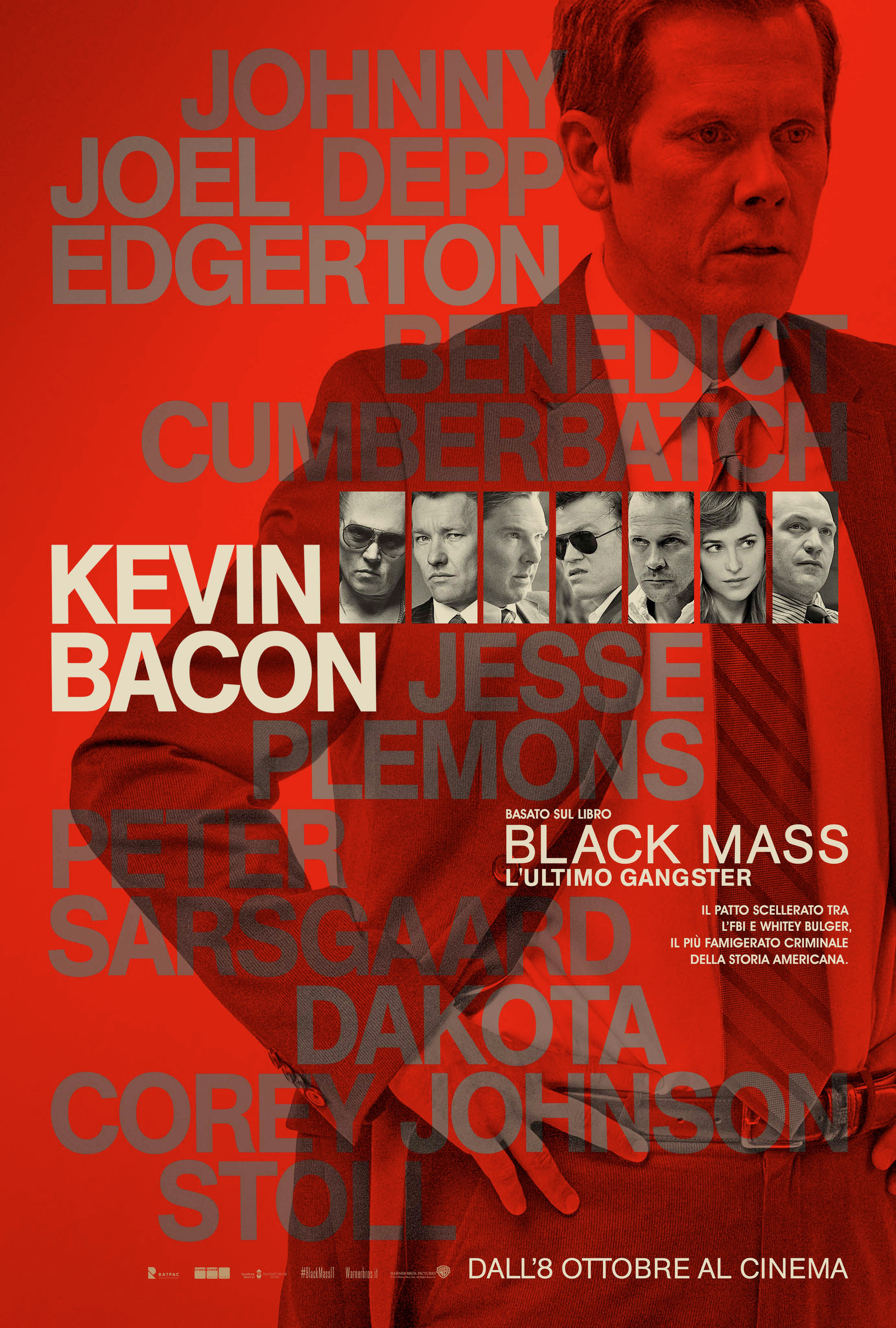 Black Mass - L'ultimo gangster: il character poster di Kevin Bacon