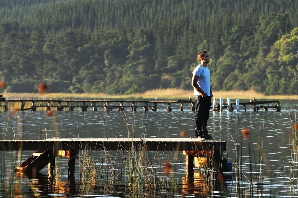 The Endless River: Nicolas Duvauchelle in una bella immagine del film
