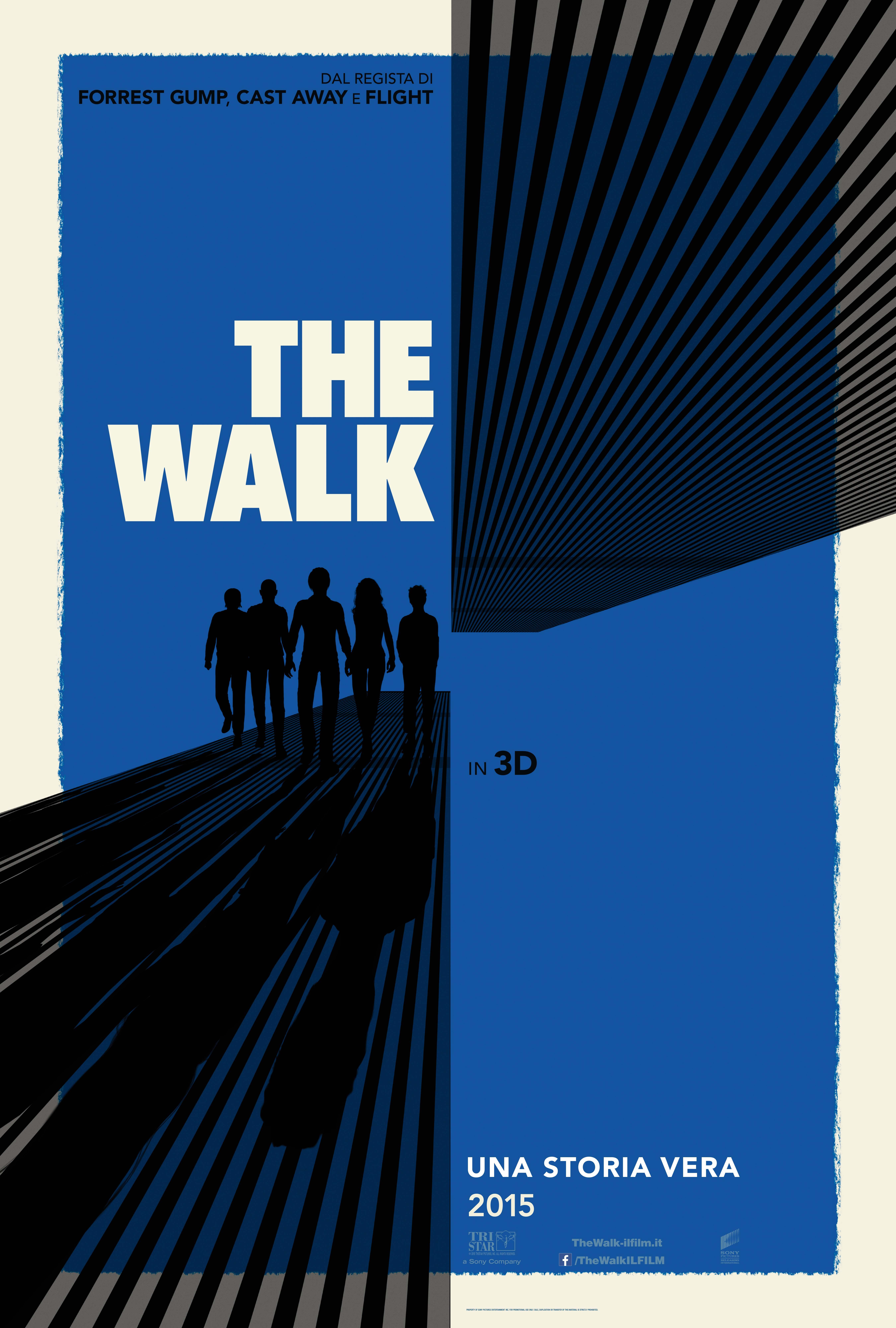 The Walk: il poster italiano del nuovo film di Robert Zemeckis