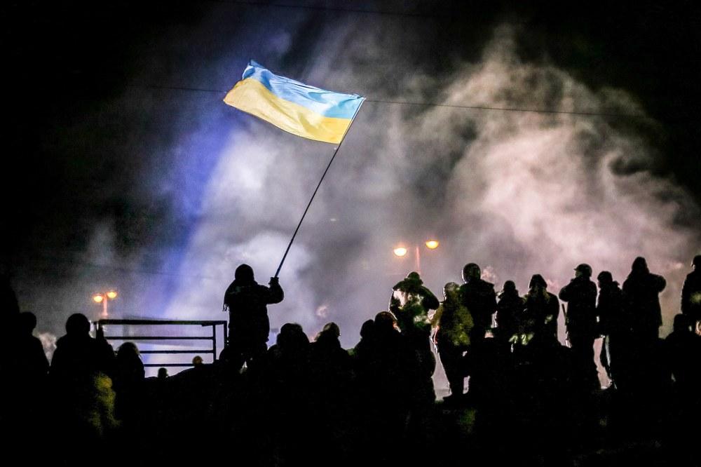 Winter on Fire: un'immagine tratta dal film documentario di Evgeny Afineevsky