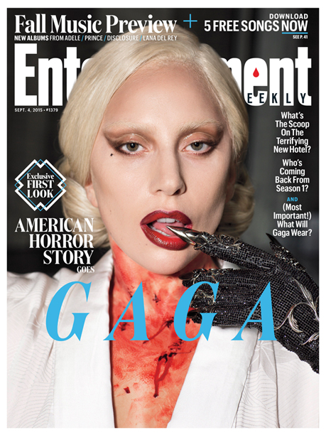 American Horror Story: Hotel: la copertina di Entertainment Weekly dedicata alla serie