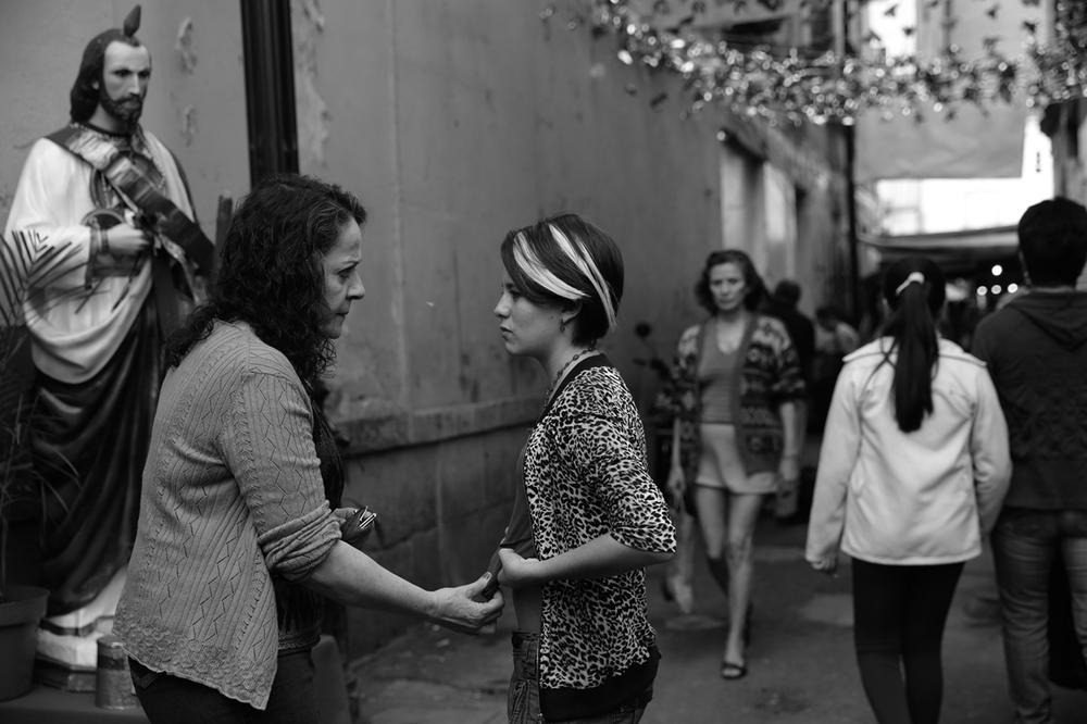 La calle de la Amargura: un momento del film messicano