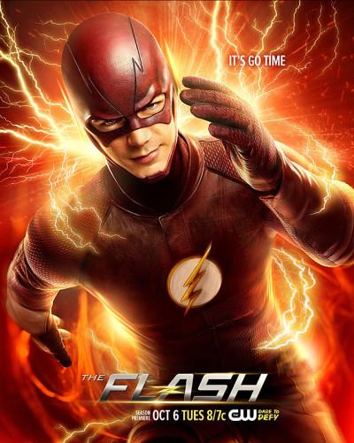 The Flash: la locandina della seconda stagione