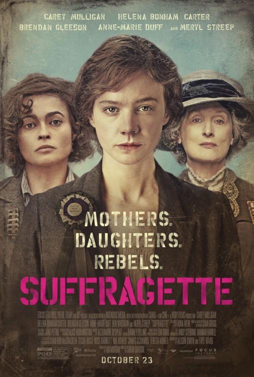 Suffragette: la nuova locandina