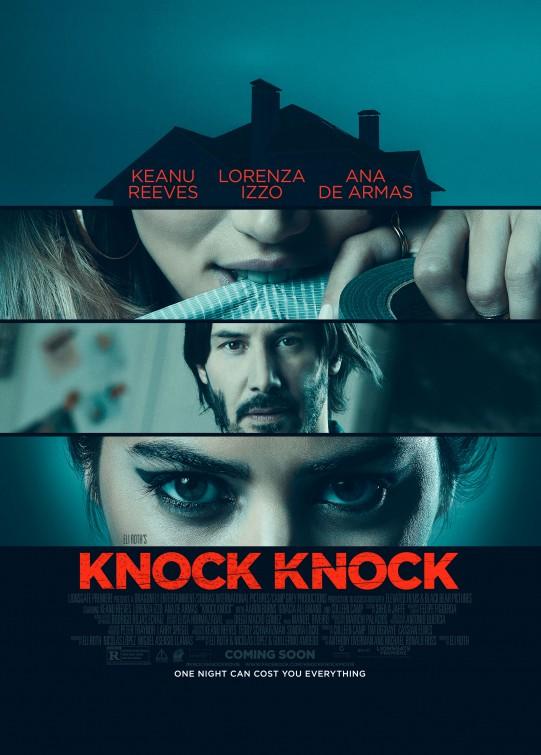 Knock Knock: la locandina ufficiale dell'horror