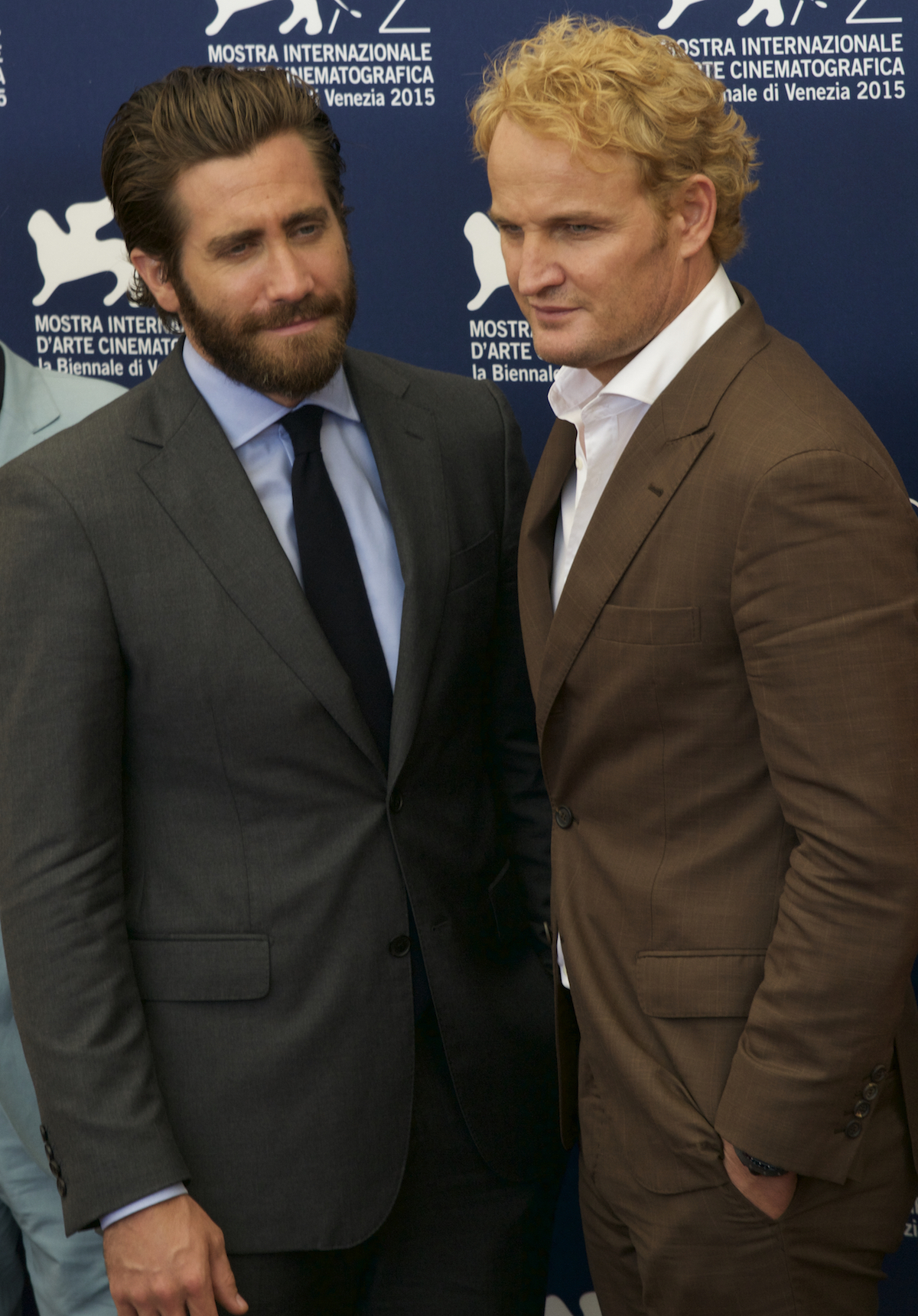 Everest: Jake Gyllenhaal e Jason Clarke al photocall di Venezia 2015