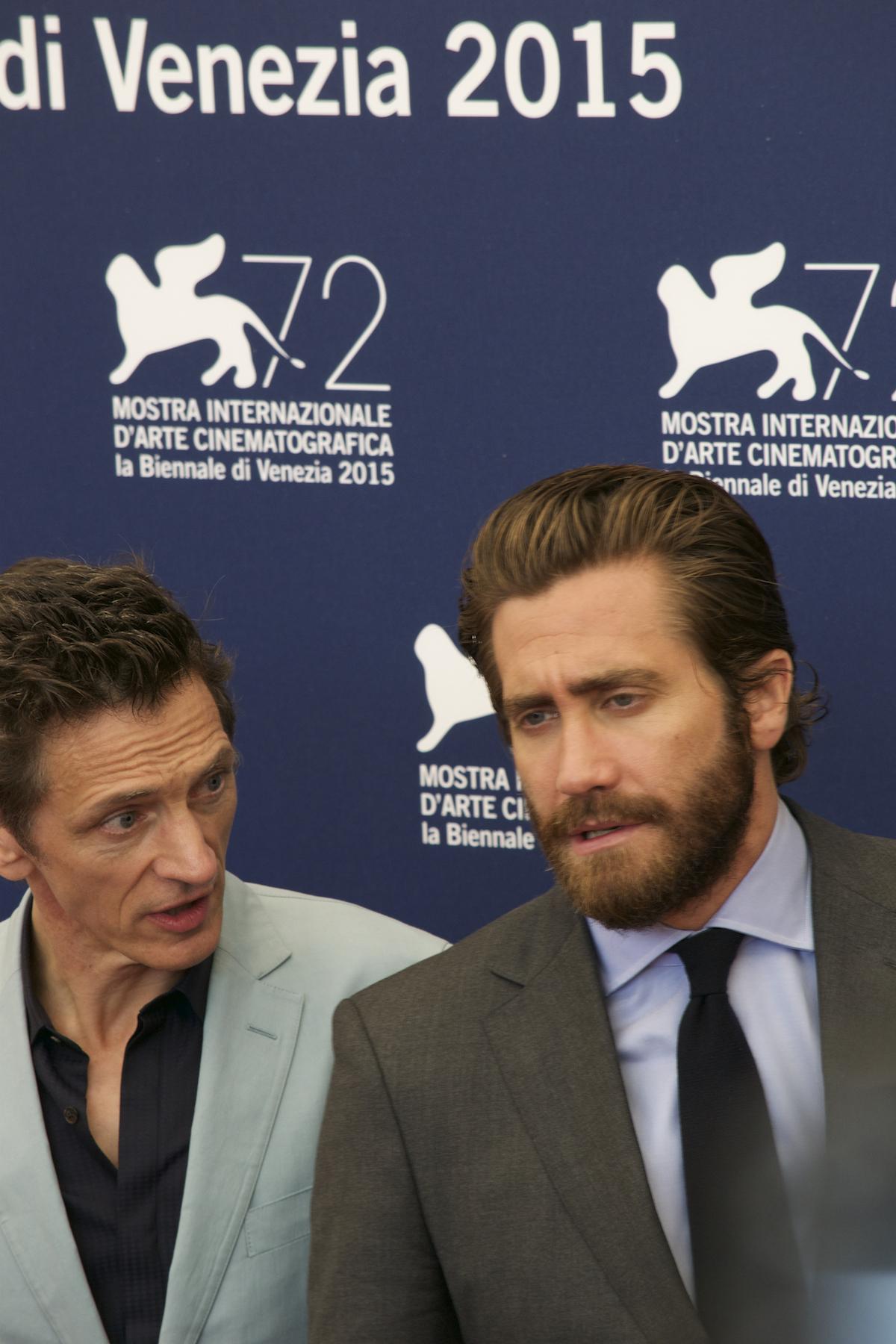 Everest: John Hawkes e Jake Gyllenhaal al photocall di Venezia 2015