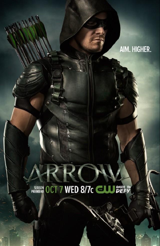 Arrow: il poster per la quarta stagione