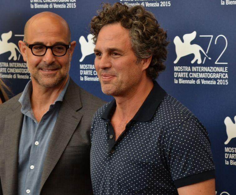 Spotlight: Mark Ruffalo e Stanley Tucci al photocall di Venezia 2015