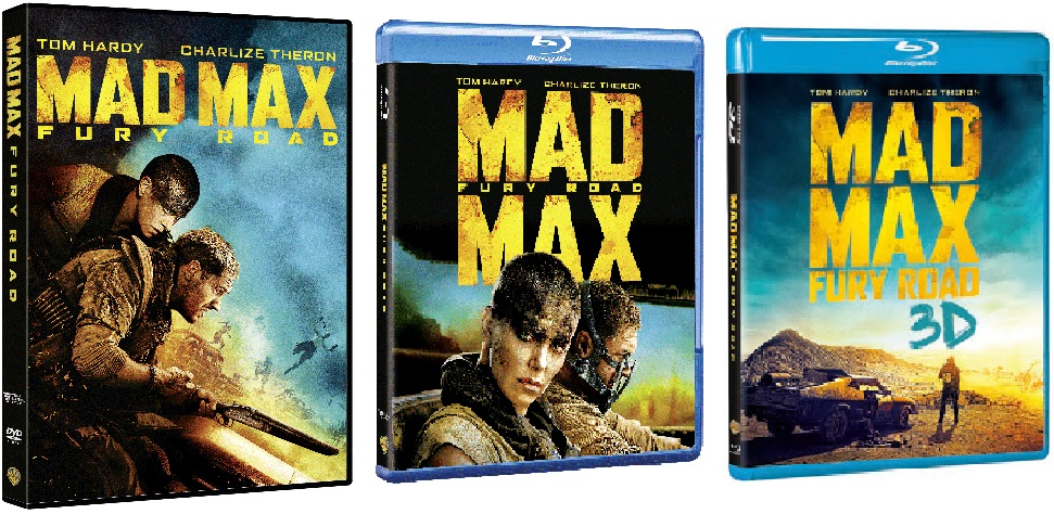 Le cover di Mad Max: Fury Road