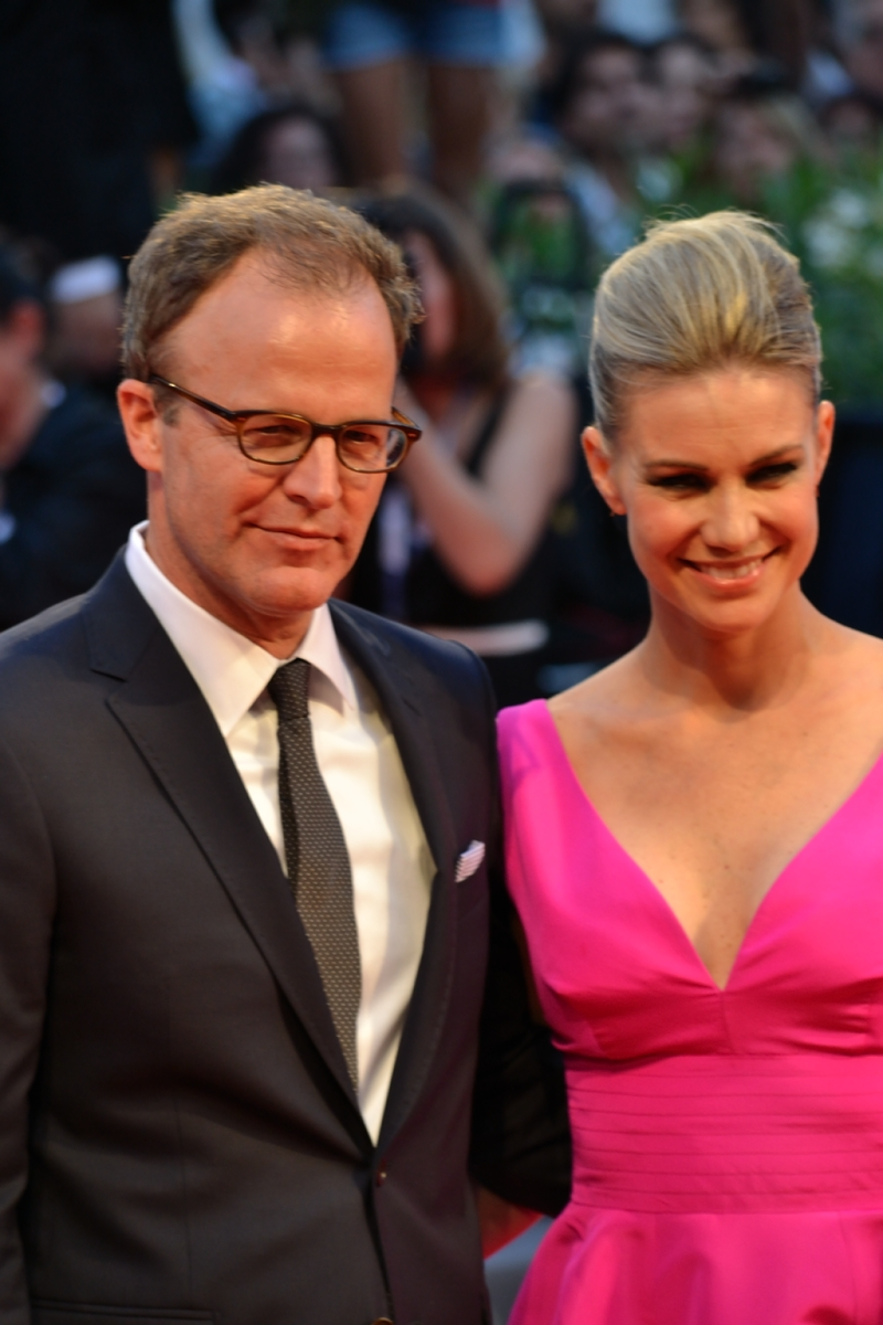 Venezia 2015: un primo piano di Thomas McCarthy sul red Carpet