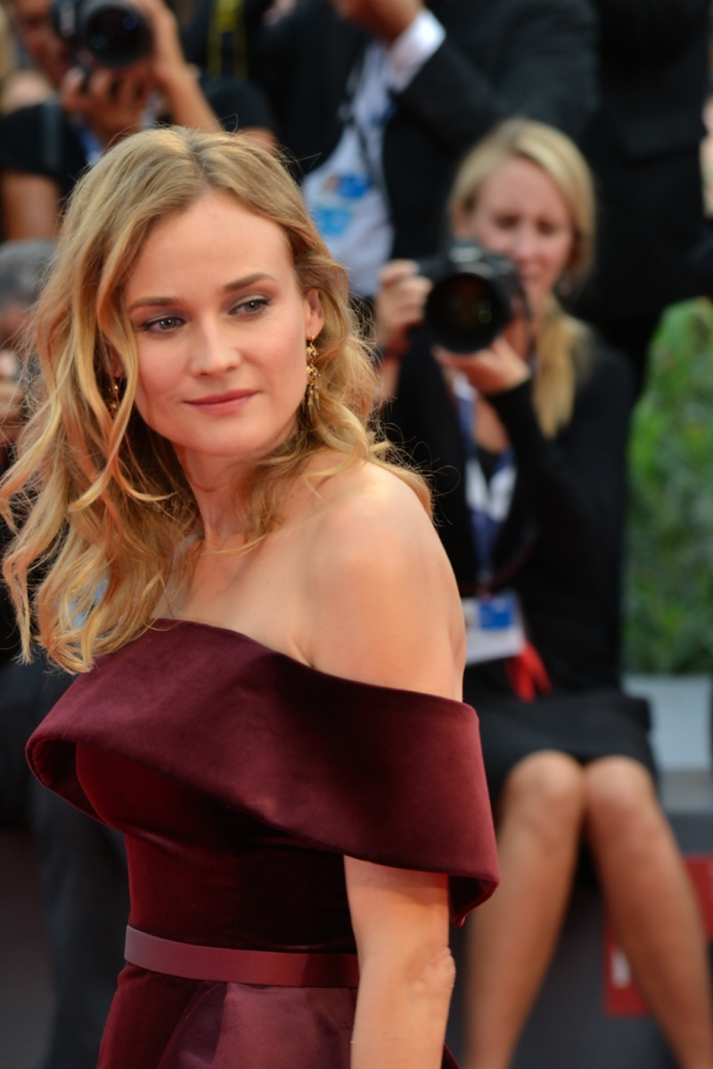 Venezia 2015: Diane Kruger sul red carpet di Black Mass