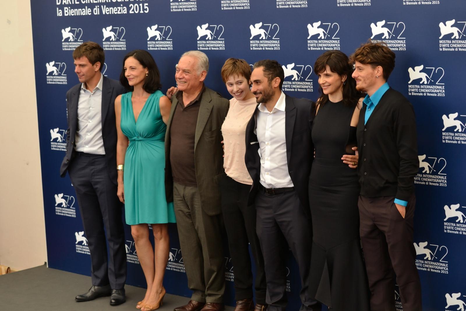 Venezia 2015: il cast del film L'attesa al ohotocall