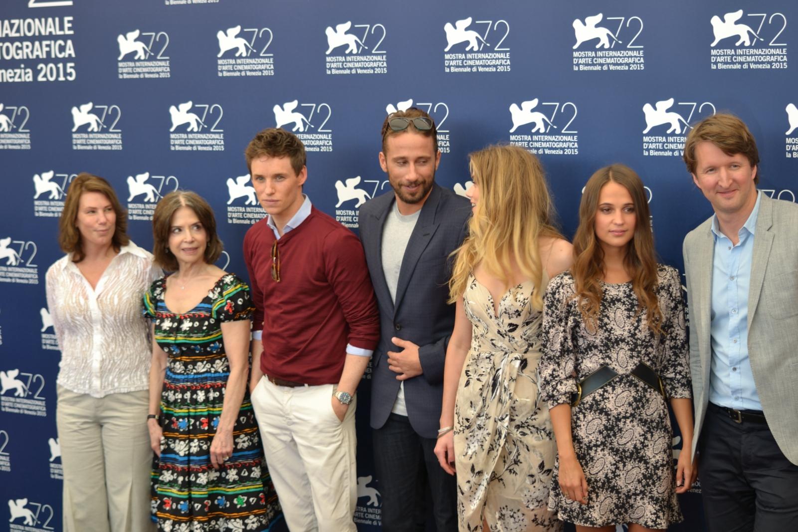 Venezia 2015: il cast di The Danish Girl al photocall